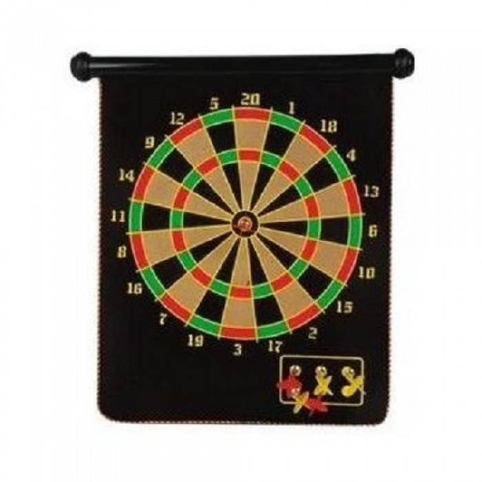 Magnetic Dart Game Στόχος Mε 6 Mαγνητικά Bελάκια