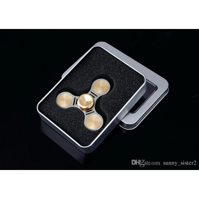 Μεταλλικό Fidget Spinner σε μεταλλικο κουτι