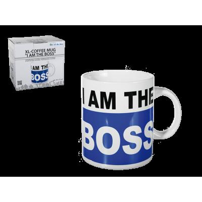 "Oversized κούπα "" Ι am the Boss """