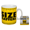 """Oversized κούπα """"Size matters"""""""