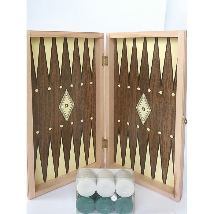 Χειροποίητο ξύλινο τάβλι μεγαλη διασταση