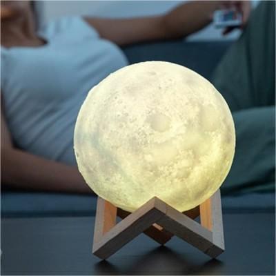 Mini Φεγγάρι Moon Light LED Mε Αποχρώσεις