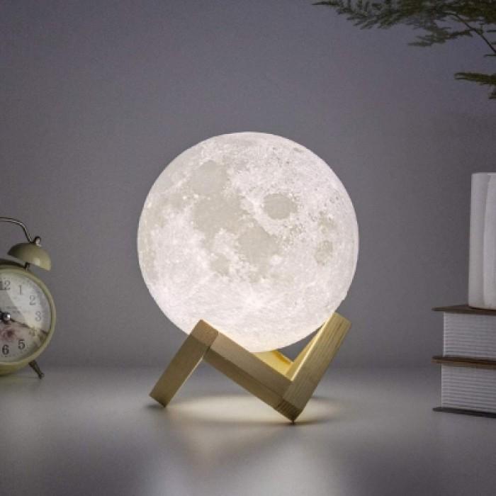 Big  Φεγγάρι Moon Light LED Mε Αποχρώσεις